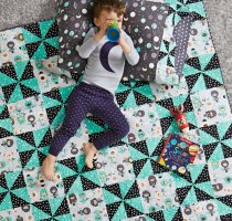 image relating to Baby Quilt Patterns Free Printable referred to as Youngster Quilts