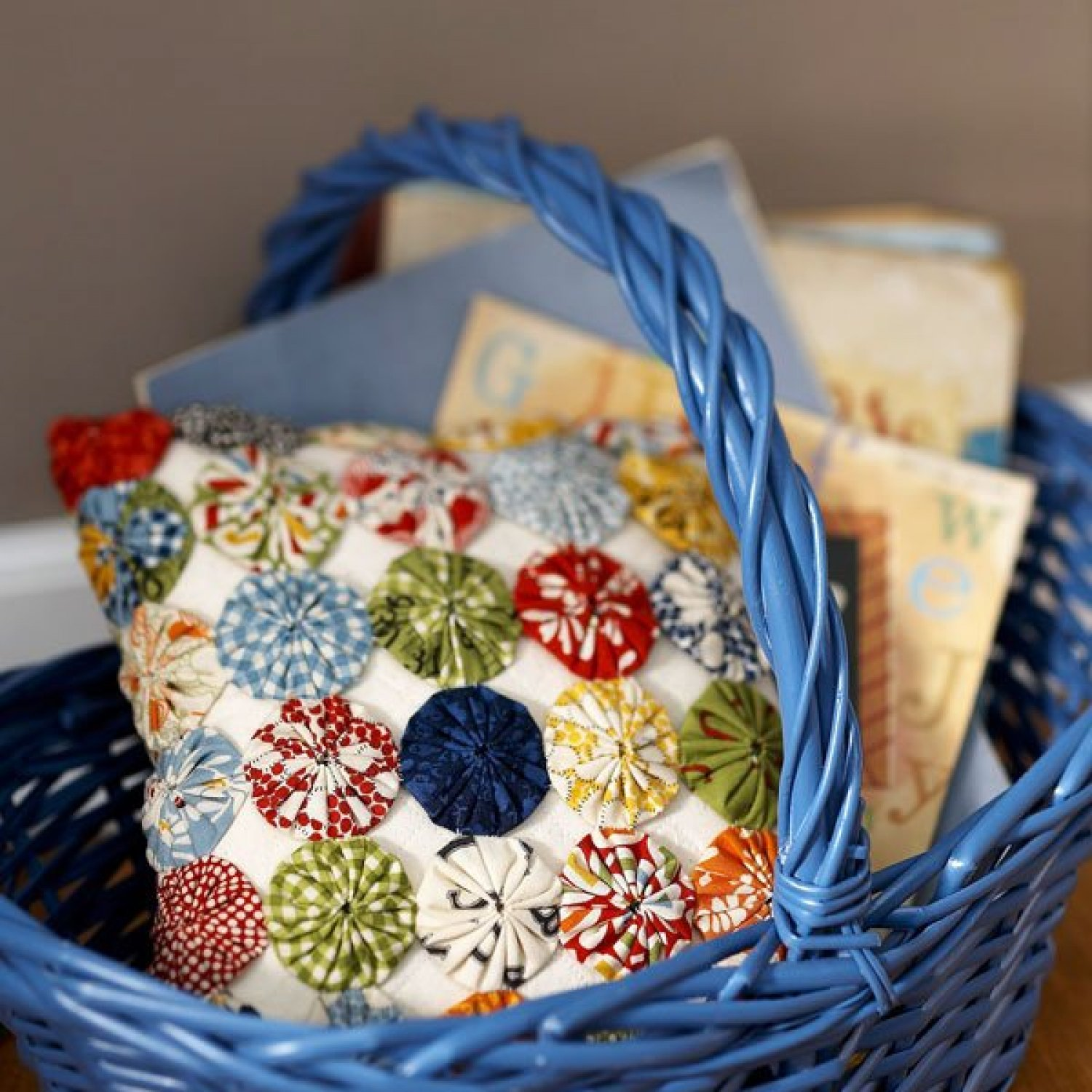 Projects: Yo-Yo Quilt Projects
