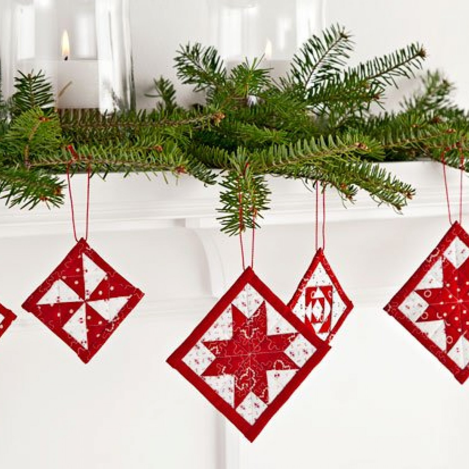Handmade ornament patterns allpeoplequilt