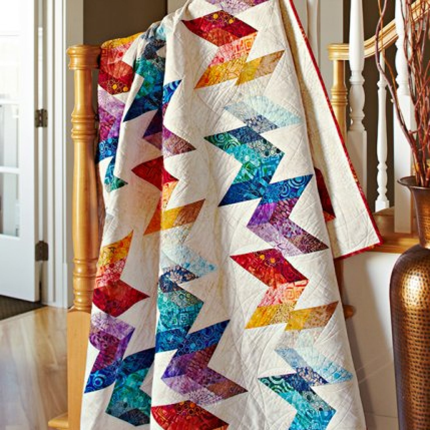 Decorating With Quilts