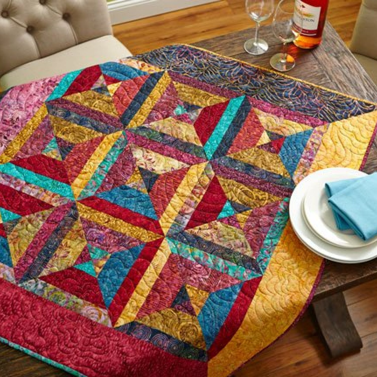 Our Best Table Toppers Allpeoplequilt Com