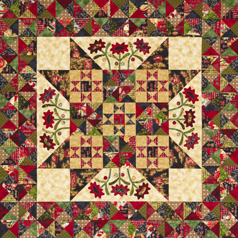 Midnight Blooms Quilt   AllPeopleQuilt.com : kim diehl quilt patterns - Adamdwight.com