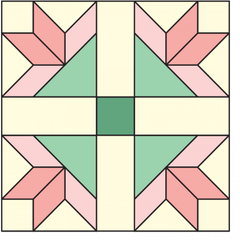 Goose Tracks Quilt Block   AllPeopleQuilt.com : goose tracks quilt pattern - Adamdwight.com