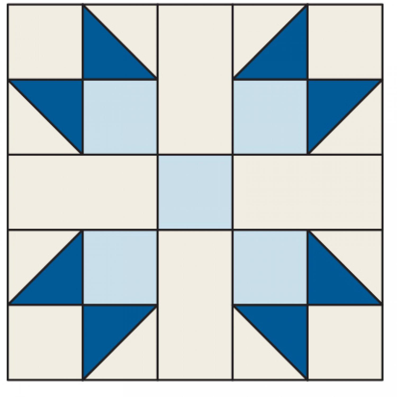Quilt Block Patterns In Public Domain : Simple Sue Quilt Block AllPeopleQuilt.com