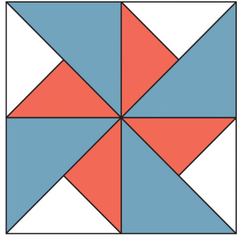 Quilt Patterns Windmill Block : Windmill Quilt Block AllPeopleQuilt.com