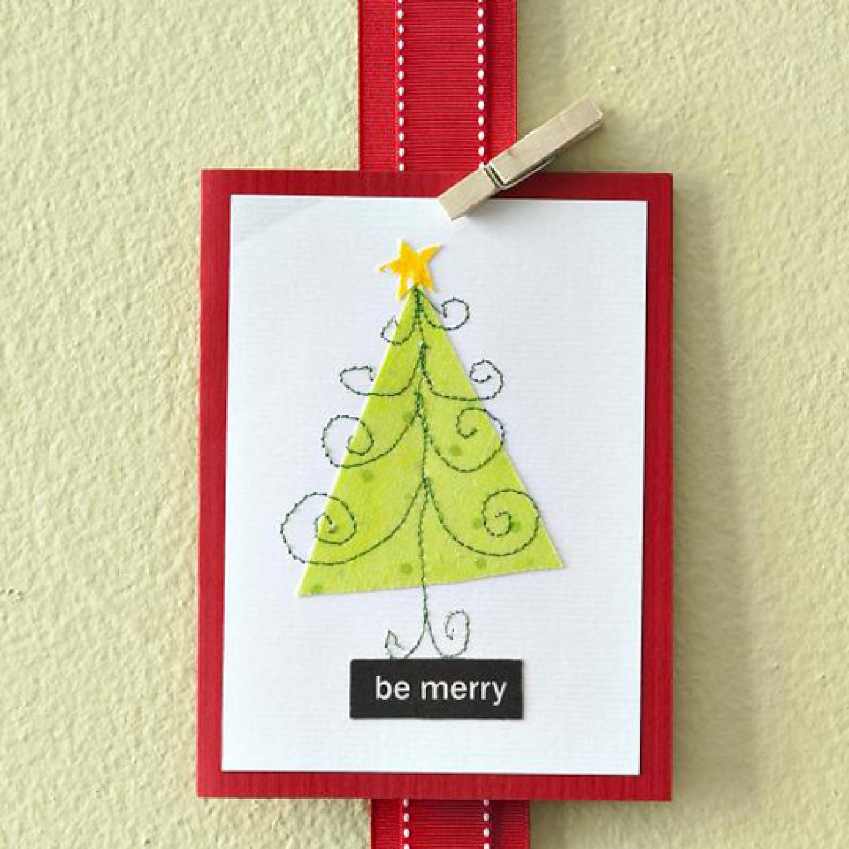 Handmade Christmas Cards Allpeoplequilt