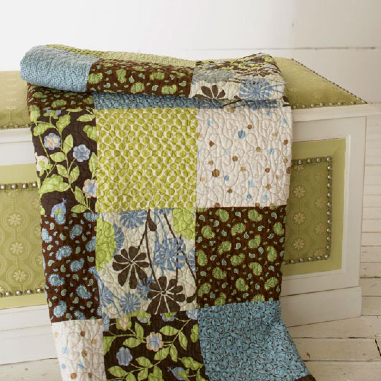 Free Big Block Quilt Patterns Cool Decorating Ideas