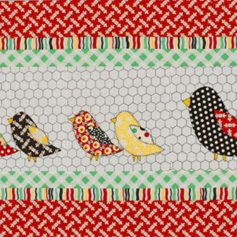 Chickens in the Coop | AllPeopleQuilt.com