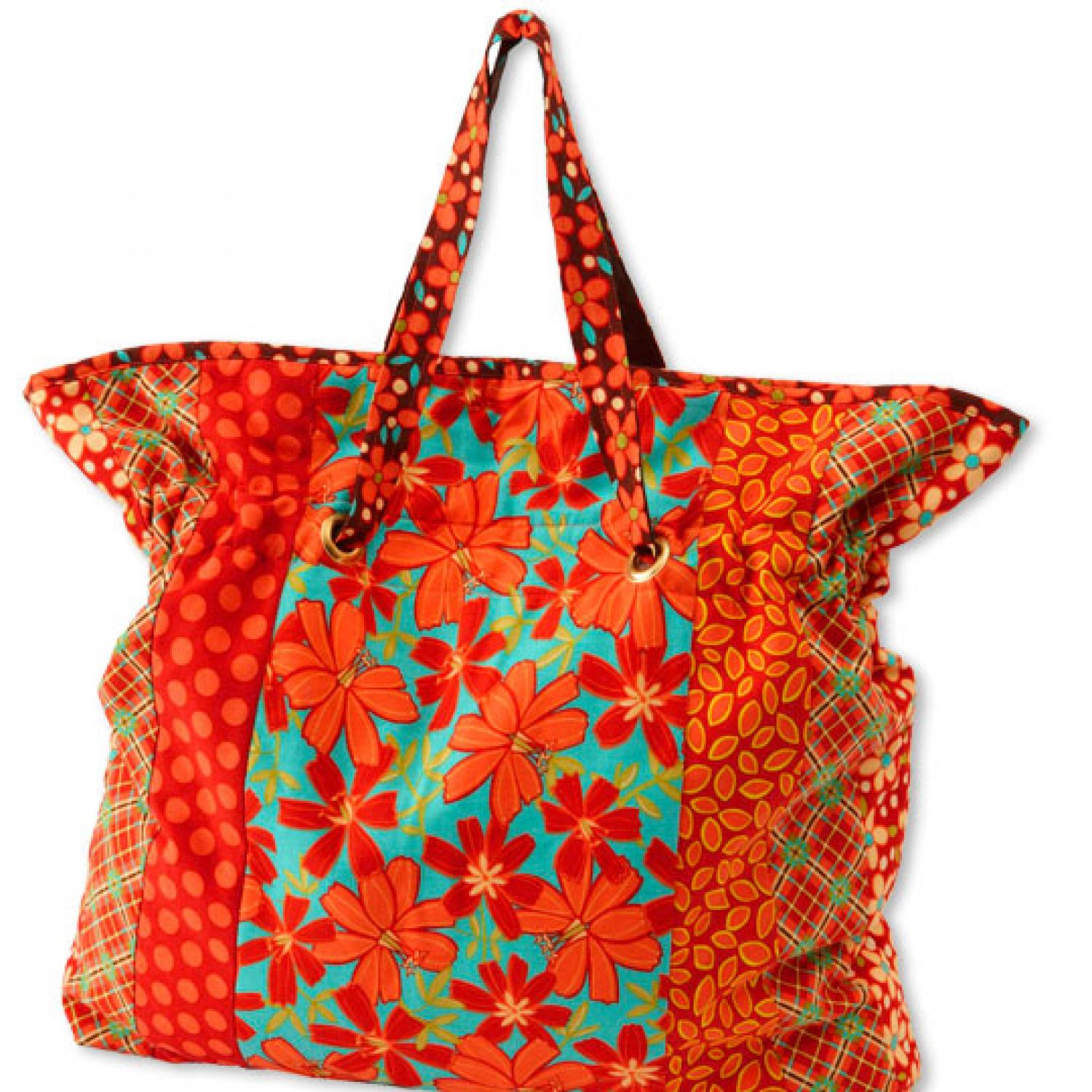 Cinch it tote bag allpeoplequilt jeuxipadfo Image collections