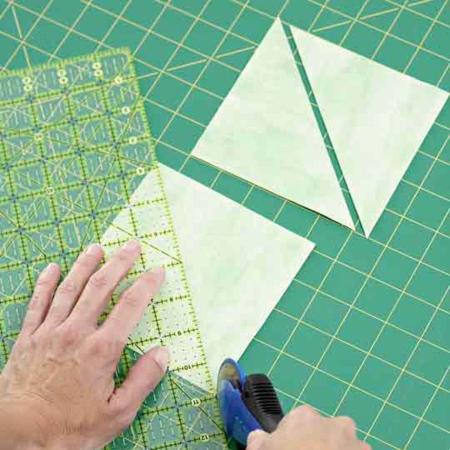 Cutting Triangles Allpeoplequilt Com