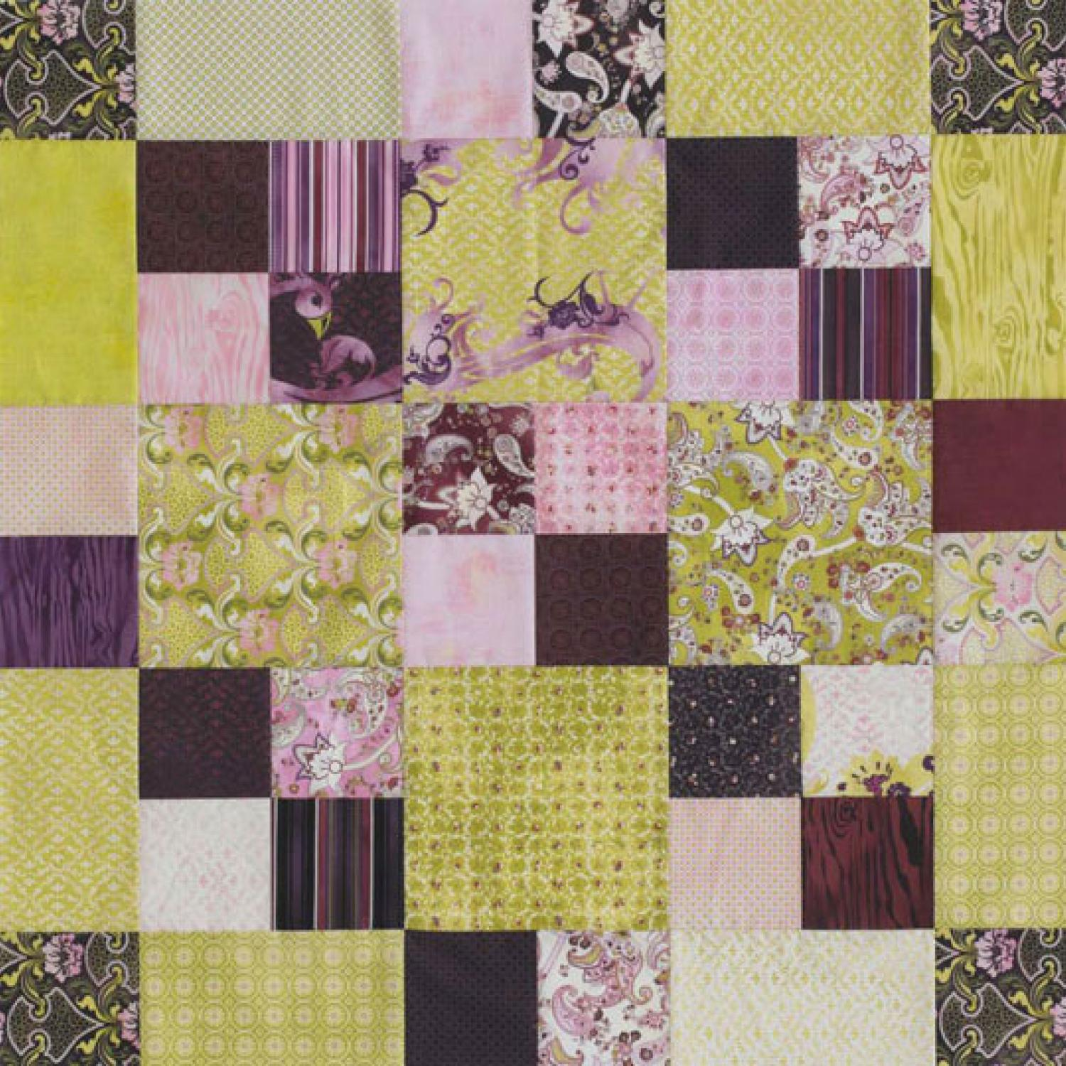 Easy Squares Table Topper Allpeoplequilt Com
