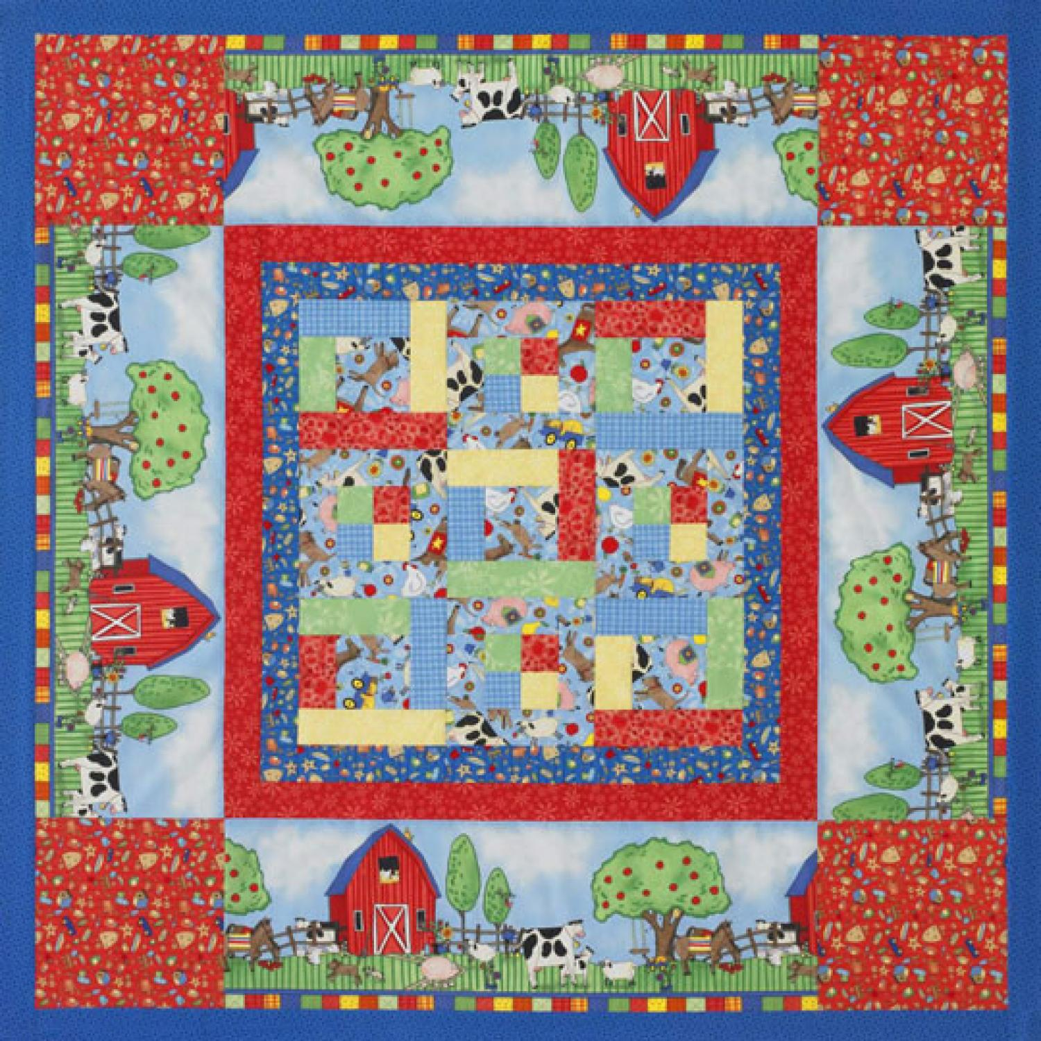 Kid's Quilted Play Mat | AllPeopleQuilt.com : quilted play mat baby - Adamdwight.com