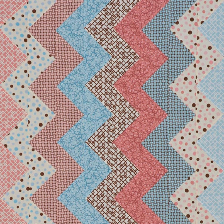 Zigzag Flannel Baby Quilt AllPeopleQuilt.com