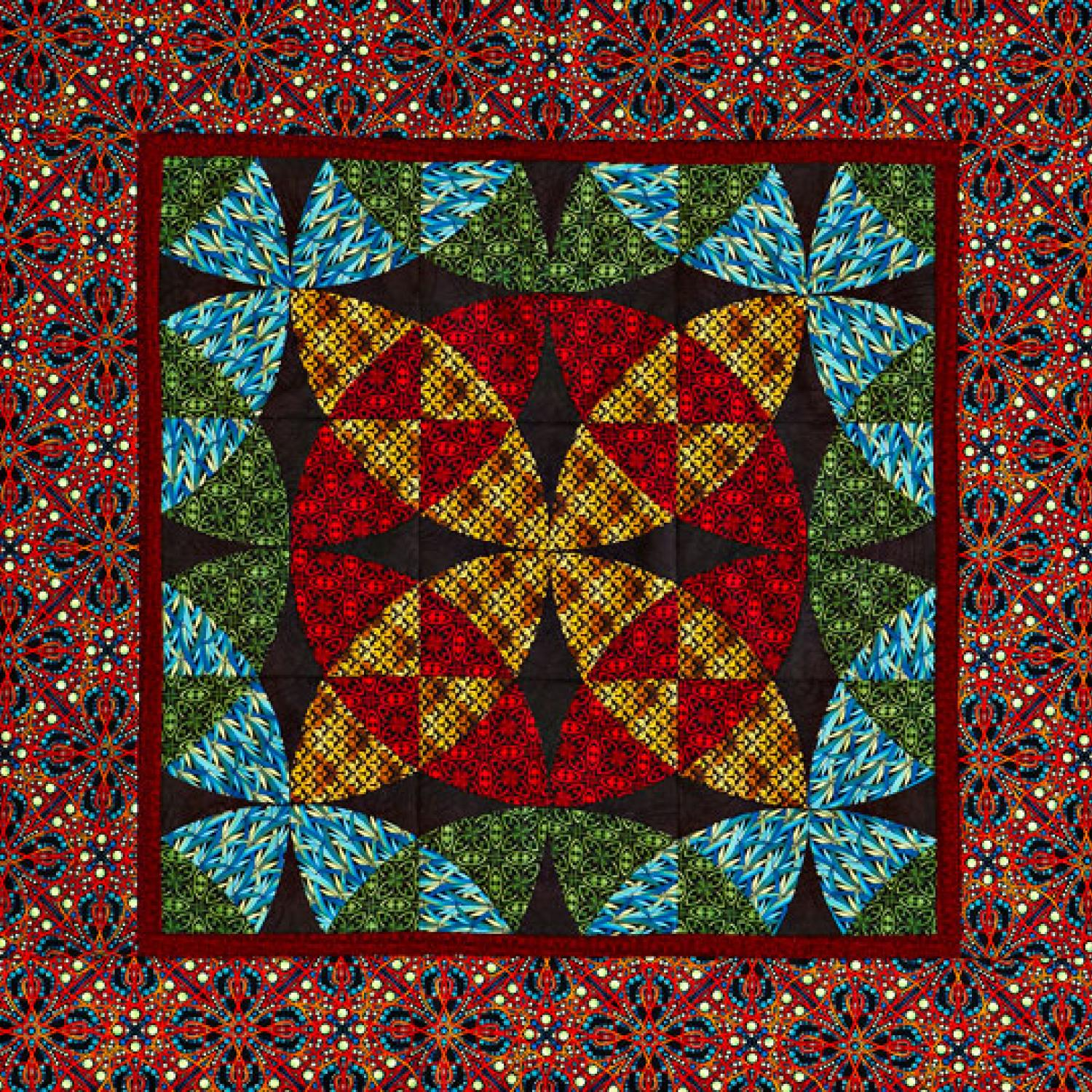 Stained Glass Wall Hanging Allpeoplequilt Com