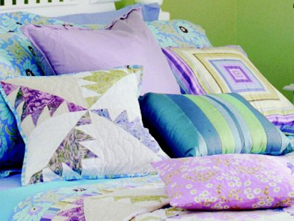Free pillow patterns allpeoplequilt.com