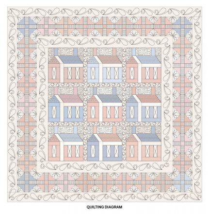 image regarding Free Printable Machine Quilting Designs named Free of charge Device Quilting Layouts