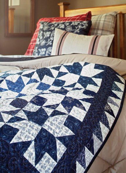 Two-Color Quilts | AllPeopleQuilt.com : two color quilt blocks - Adamdwight.com
