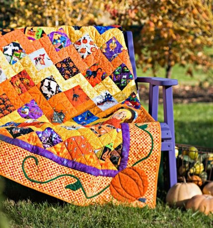 Halloween Quilts | AllPeopleQuilt.com : halloween quilt blocks - Adamdwight.com