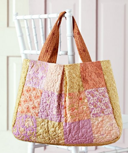 Quilting Purse Patterns Free : Free Bag Patterns AllPeopleQuilt.com