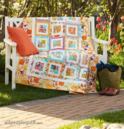 Quilt Patterns That Use 40Inch Squares AllPeopleQuilt Interesting Quilt Patterns With 5 Inch Squares