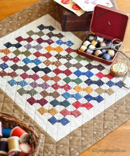 Free Patterns For Mini Quilts AllPeopleQuilt Classy Mini Quilt Patterns