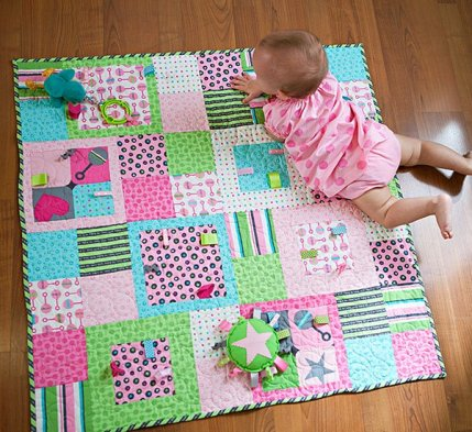 Baby Quilts For Girls AllPeopleQuilt Mesmerizing Baby Quilt Patterns