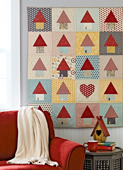 Quilt Patterns That Use 10-Inch Squares | AllPeopleQuilt.com : quilt patterns for 10 inch squares - Adamdwight.com