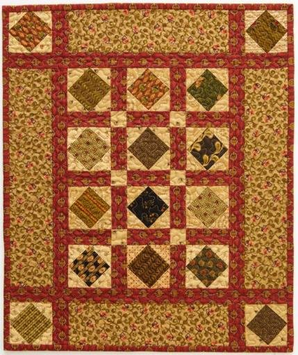 Quilts Made of Civil War Reproduction Fabrics | AllPeopleQuilt.com : civil war fabric reproductions for quilting - Adamdwight.com
