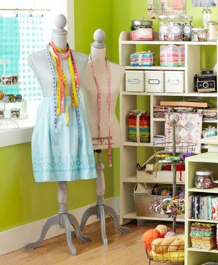 Stylish Sewing Room