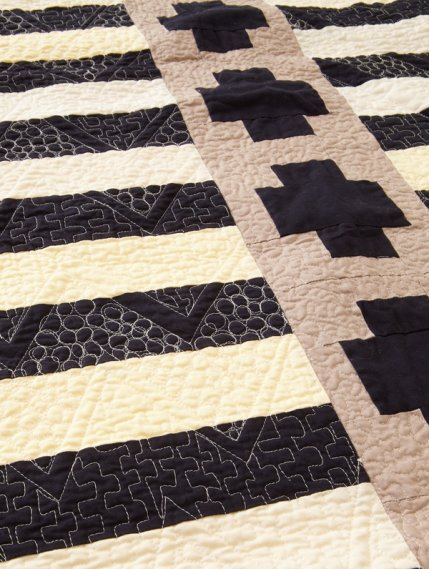 how to get right angles on a quilt