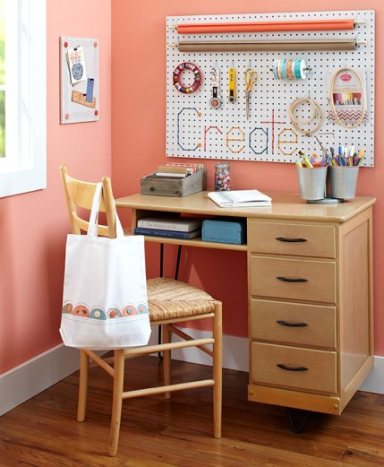 Organize your sewing room for Craft and sewing room ideas