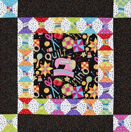 Quilts Using Polka Dot Fabrics | AllPeopleQuilt.com : polka dot quilt pattern - Adamdwight.com