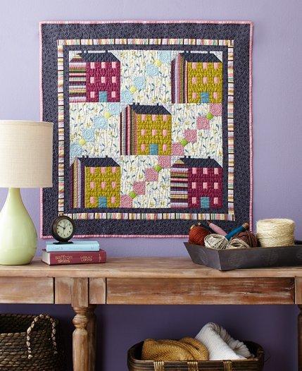 House Block Quilt Patterns Allpeoplequilt Com