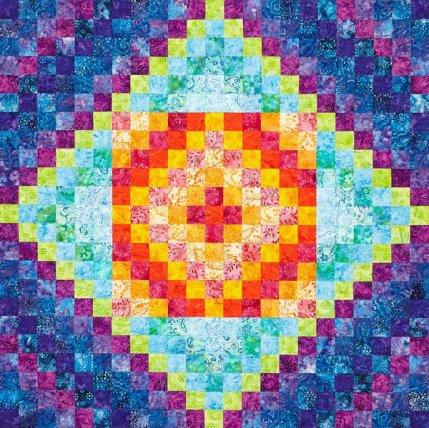 Free Batik Quilt Patterns | AllPeopleQuilt.com : quilt patterns for batiks - Adamdwight.com