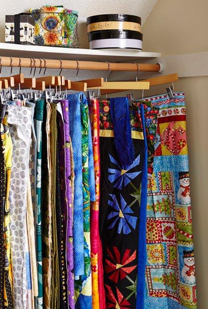 Smart Ways To Store Fabric