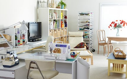 Organize your sewing room - How to organize your living room furniture ...
