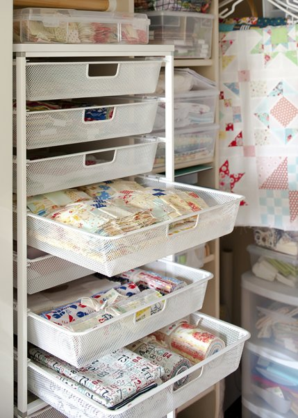 Smart ways to store fabric for Fabric storage