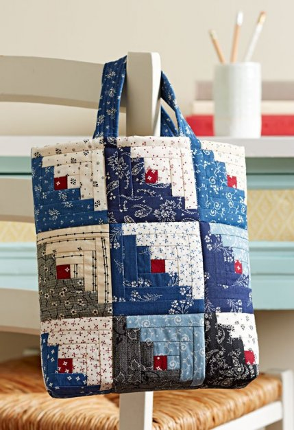 Free Bag Patterns | AllPeopleQuilt.com : quilt tote bag - Adamdwight.com