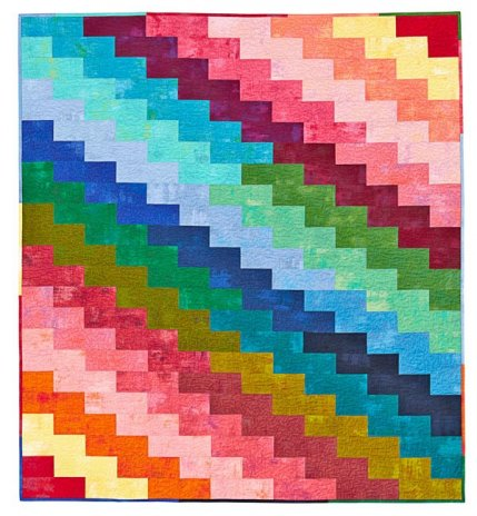 Rainbow Quilt Patterns | AllPeopleQuilt.com : rainbow quilt pattern - Adamdwight.com