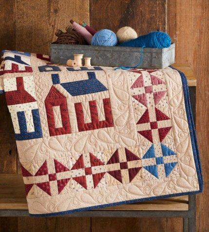 House Block Quilt Patterns | AllPeopleQuilt.com : house quilt patterns - Adamdwight.com