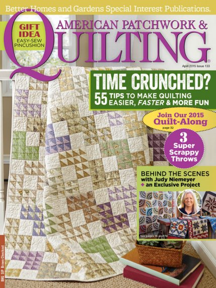 American Patchwork & Quilting April 2015 | AllPeopleQuilt.com : american patchwork quilts - Adamdwight.com