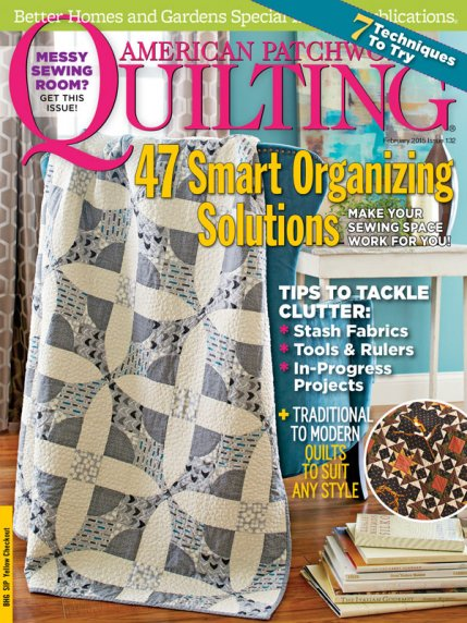 American Patchwork & Quilting February 2015 | AllPeopleQuilt.com : quilting and patchwork magazine - Adamdwight.com