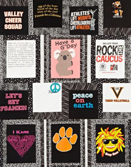 Free T-Shirt Quilt Patterns | AllPeopleQuilt.com : t shirt quilt kit - Adamdwight.com