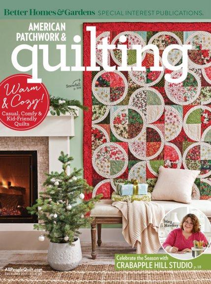 American Patchwork & Quilting December 2017 | AllPeopleQuilt.com : quilt it for christmas magazine - Adamdwight.com