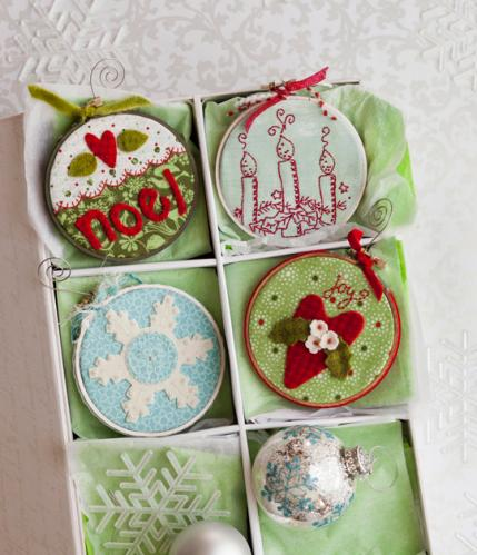 Easy Christmas Tree Ornaments Allpeoplequilt Com