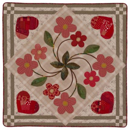 Flower HandAppliqué Quilts AllPeopleQuilt Cool Applique Patterns Flowers