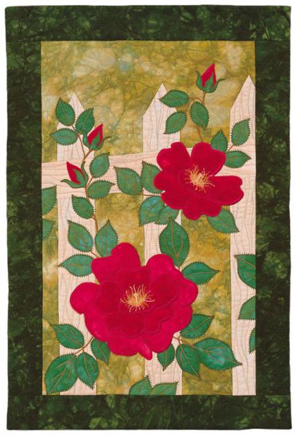 Flower Machine-Appliqué Quilts | AllPeopleQuilt.com
