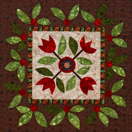 Flower MachineAppliqué Quilts AllPeopleQuilt Simple Applique Patterns Flowers