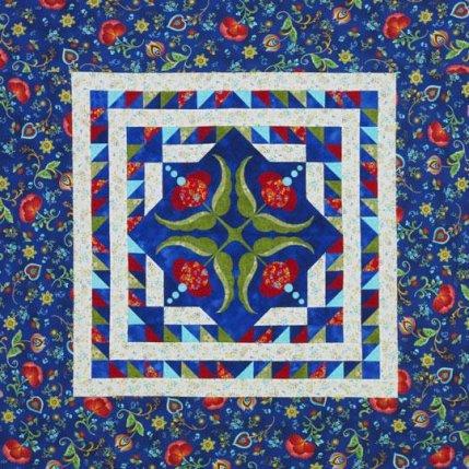 Quilting Color Trend: Blue | AllPeopleQuilt.com : multiple quilt borders - Adamdwight.com