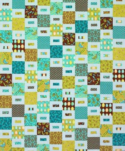 Free Fat Quarter-Friendly Quilt Patterns AllPeopleQuilt.com